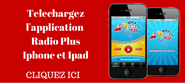 Telechargez l'application radio