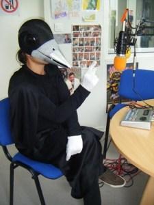 Maître Corbak dans les studios