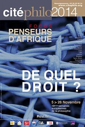 Affiche Cité Philo 2014