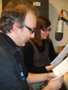 Enregistrement de lecture, par Michaël Moslonka et Miléna Zahalka