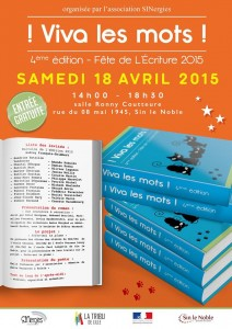 Viva les mots, fête de l'écriture, 4ème édition