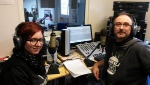 Michaël Moslonka et Alison Verfaillie - Radio Plus - 2016