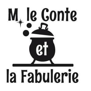 """logo éditions """"M. le Conte et la Fabulerie"""""""