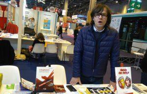 """Frédéric Lépinay, responsable de la maison d'édition """"Les Lumières de Lille"""" ( (c) 20minutes.fr)"""