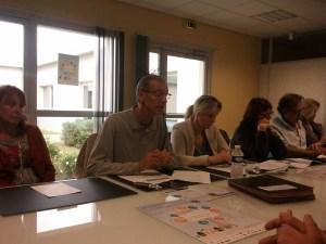 Eric Deleval et Séverine Patron lors de la conférence de presse du festival les petits bonheurs (Ph. Radio Plus)