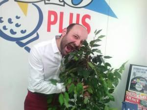 Fabien Delorme, conteur, mai 2017, Radio Plus