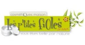Logo Les P'tites Fioles - cosmétique naturelle