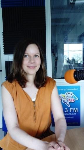 Tiphaine Fatou - chronique Le Chemin vert - à Radio Plus, juin 2019