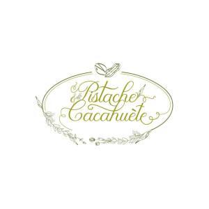 """Logo """"Pistache & cacahuète"""", """"vromagerie"""" (fromage végétal) - Lille"""