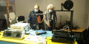 une partie du Fab Lab de l'oasis 2 vies (Ph. JP PLANQUE / RADIO PLUS)
