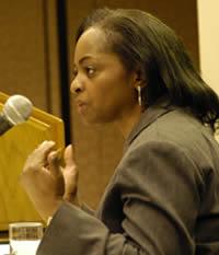 Author and professor, Dr. Carol Anderson.  Source: womensfoundca.org