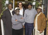 From left: Hank Jones, John Bowman (deceased), Ray Boudreaux, Harold Taylor, and Richard Brown, also known as The San Francisco Eight.  Source: Scott Braley