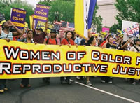 March for Womens Lives: Washington, D.C., 2004.  Source: SisterSong.