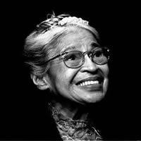 Rosa Parks 1913-2005. Source: tolerance.org