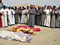 Victims of US air strike, Balad, March 2006.  Source: www.dahrjamailiraq.com