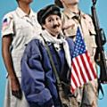 Velina Brown, Lisa Hori-Garcia, and Kevin Rolston in a scene from San Francisco Mime Troupes Making a Killing 2007.