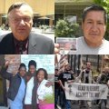 Clockwise from Top Left: Maricopa County Sheriff Joe Arpaio; Vicente Paderez; New Orleans Womens Health Clinic staff and volunteers; Iraq Veterans Against the War (IVAW)