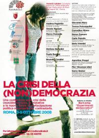 La crisi della (non) democrazia