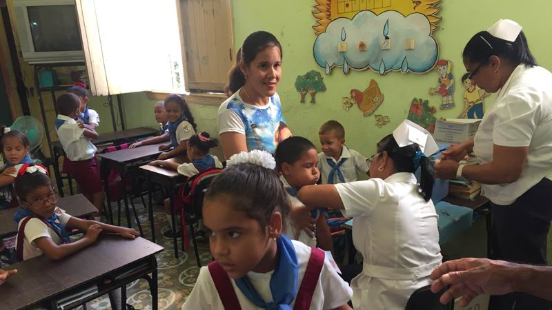 Resultado de imagen para Destaca Unicef programa de inmunización a niños cubanos
