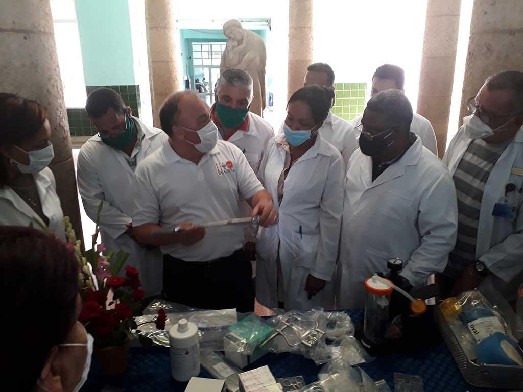 Fondo de Población de Naciones Unidas entrega donativo a hospitales ginecobstétricos cubanos
