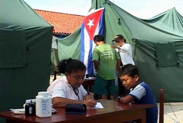 Ministra de Salud de Bolivia agradece apoyo de Cuba