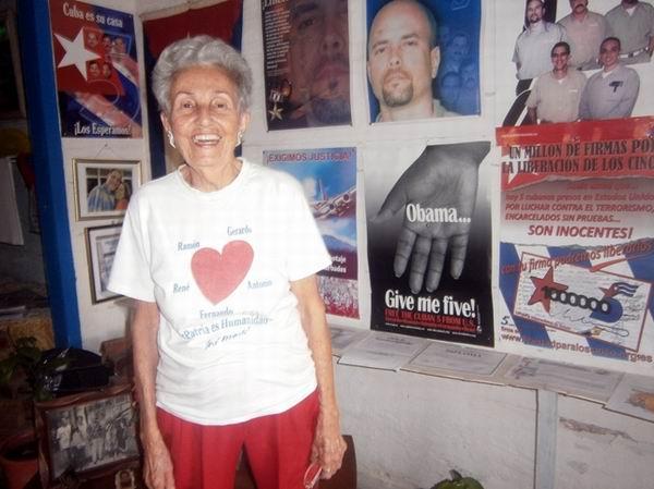María Orquídea Artiles Ruíz recibió más de 70 cartas de Gerardo Hernández
