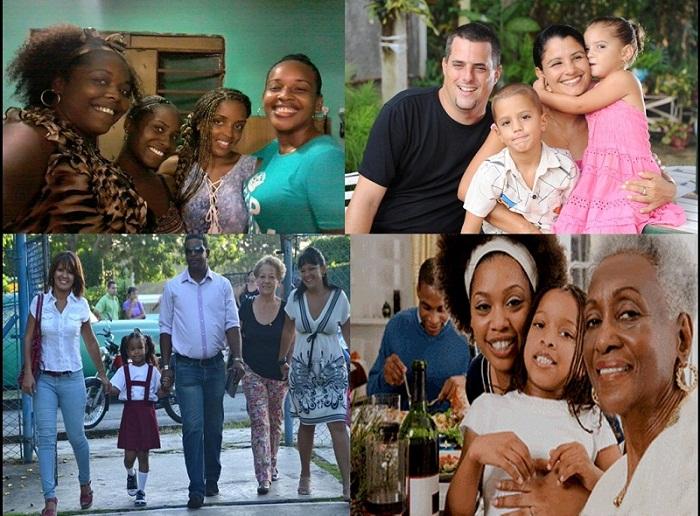 Resultado de imagen para familias cuba