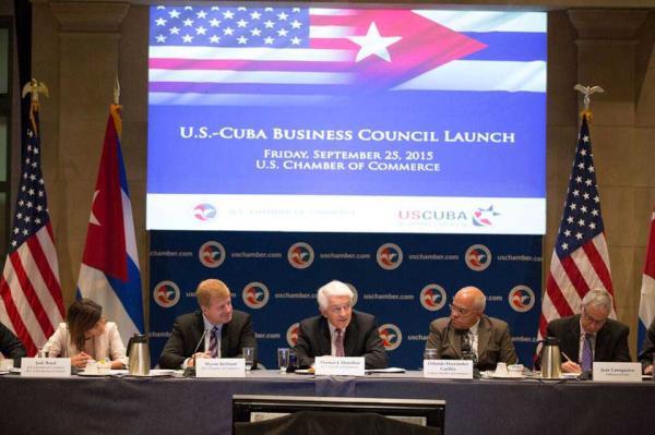 Crean Consejo de Negocios Cuba Estados Unidos. Foto cortesía embajada de Cuba en EEUU
