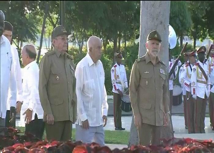 Preside Raúl homenaje a Fidel en Santiago de Cuba
