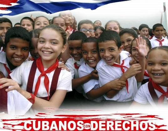 En Cuba los Derechos Humanos son patrimonio de toda la sociedad en la que cada hombre, mujer, niño, niña, anciano o anciana. Foto: Yaciel Peña