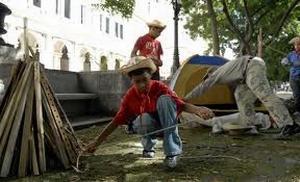 Pioneros exploradores. Foto tomada de Juventud Rebelde