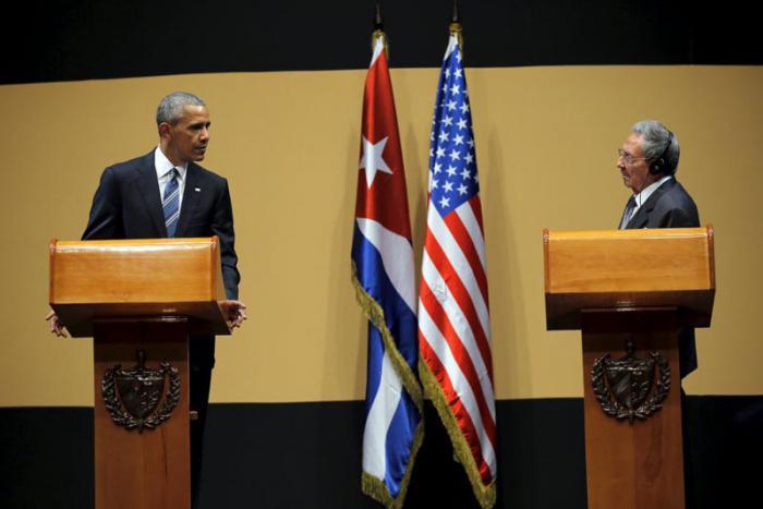 Conferencia de Prensa. Reitera Raúl Castro necesidad de levantar bloqueo estadounidense a Cuba.