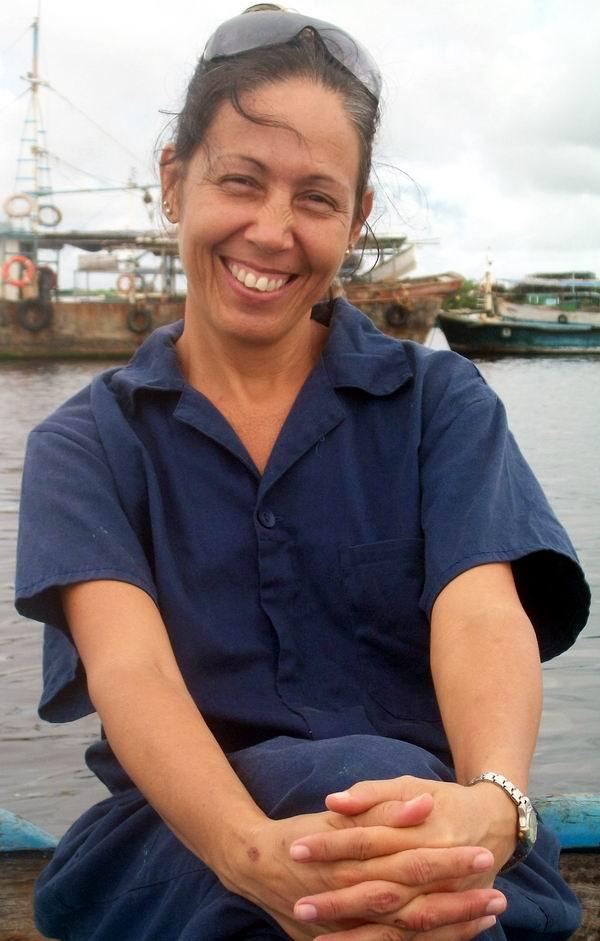 Sonia Artigas Betancourt, Ingeniera Mecánica de la empresa Proyectos, Construcciones y Servicios Navales (CEPRONA). Foto: Abel Rojas