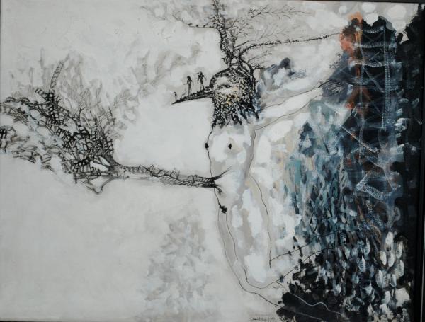 La paradoja de la percepción. Pintura de Zaida del Río