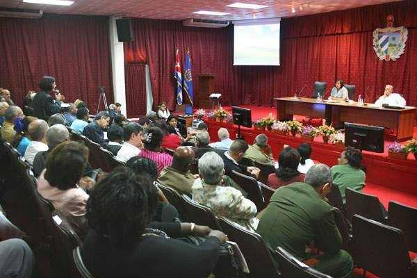 Asamblea del Poder Popular en La Habana