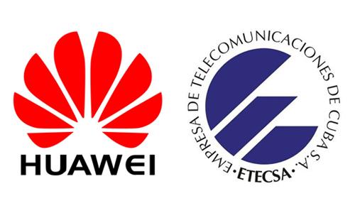 ETECSA y HUAWEI firman acuerdo de comercialización. Foto: AIN