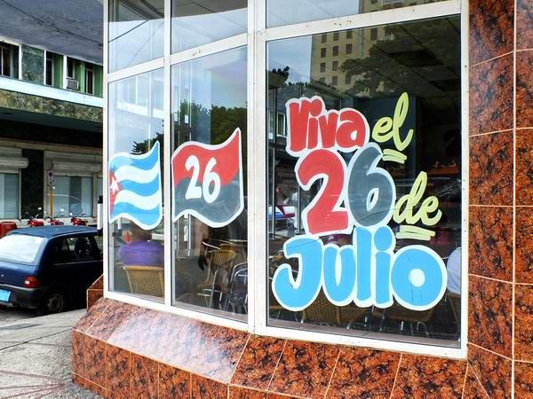 Celebrando el 26 de Julio en toda Cuba. Foto Abel Rojas