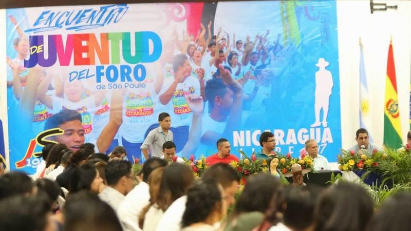 Participa Cuba en Encuentro de Juventudes de Foro de Sao Paulo en Nicaragua