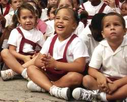 Niños cubanos. Foto Mabel Peña
