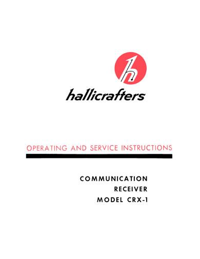 Hallicrafters CRX-1