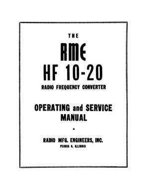RME HF 10-20