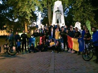 stafeta veteranilor ziua II Caransebes si Slatina Timis (2)