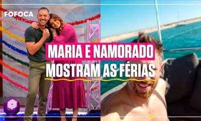 Maria Botelho Moniz e namorado