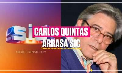 Carlos Quintas arrasa a SIC