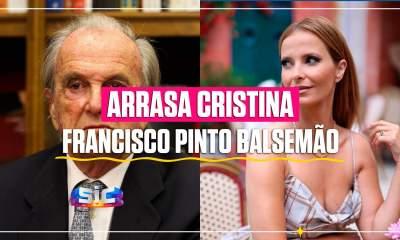 Francisco Pinto Balsemão arrasa Cristina Ferreira