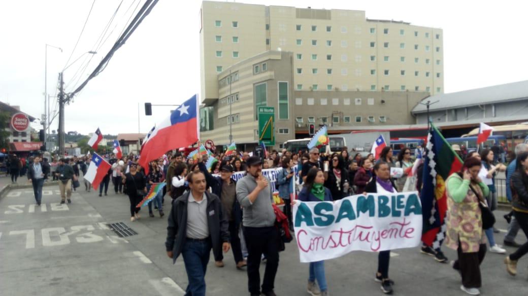 Más de 40 mil personas participaron de la marcha en Puerto Montt - Radio Sago