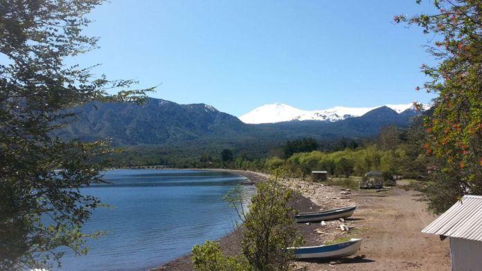Sector Las Gaviotas del Lago Rupanco (Archivo Google)
