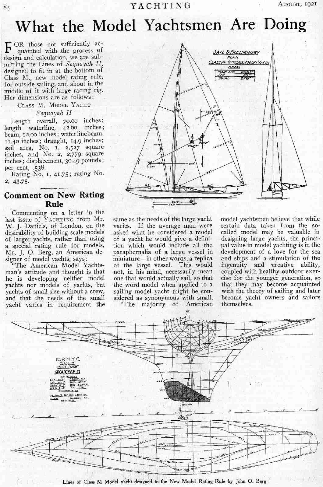 Diagram Pond Yacht