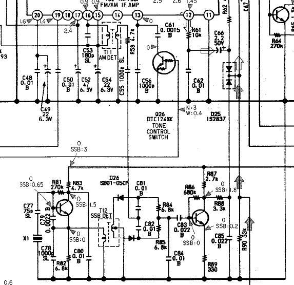 Sony ICF PRO-80. Ремонт.
