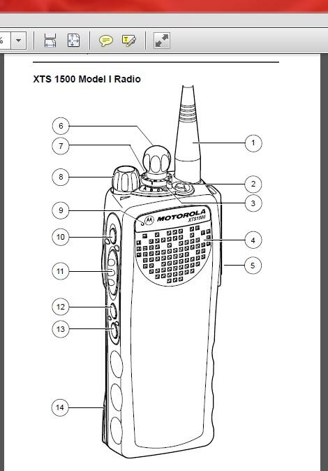 моторола Xts 1500 инструкция на русском языке